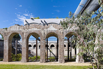 View of Paddington Reservoir.